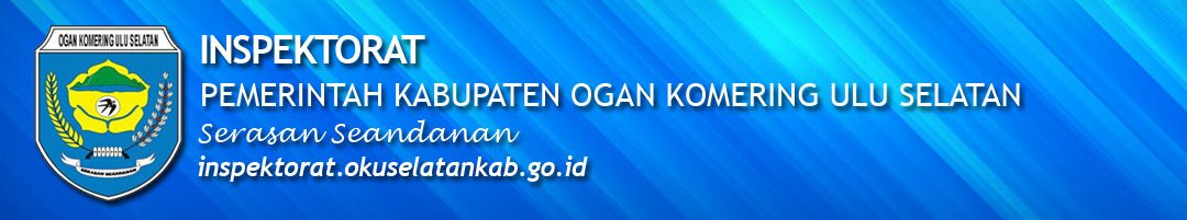 Portal Resmi Inspektorat Pemerintah Kabupaten OKU Selatan