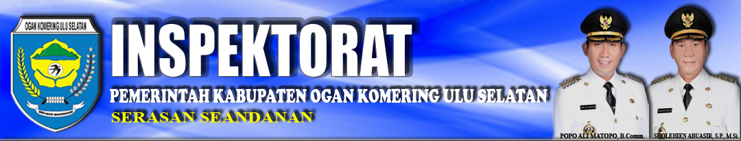 Portal Resmi Inspektorat Pemerintah Kabupaten OKU Selatan